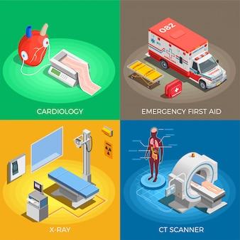 Abbildung der medizinischen ausrüstung