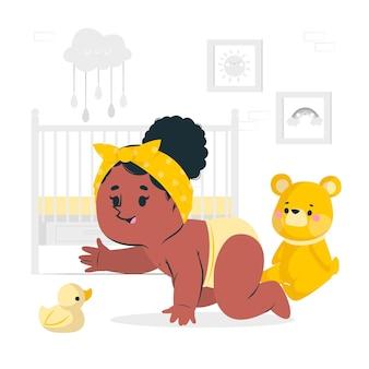 Abbildung des babykonzepts