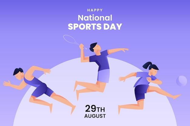 Abbildung des nationalsporttages