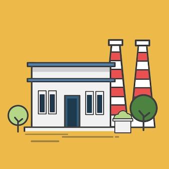 Abbildung eines kraftwerks