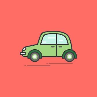 Abbildung eines weinleseautos