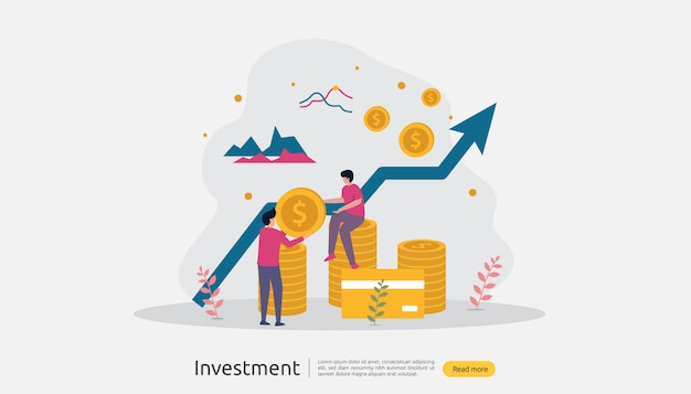 Abbildung von unternehmensinvestitionen