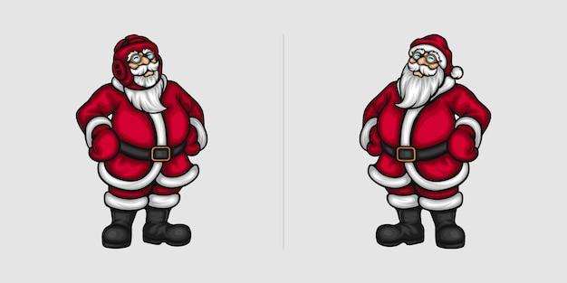 Abbildungen des weihnachtsmannes