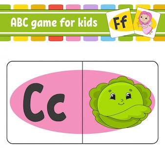 Abc-karteikarten