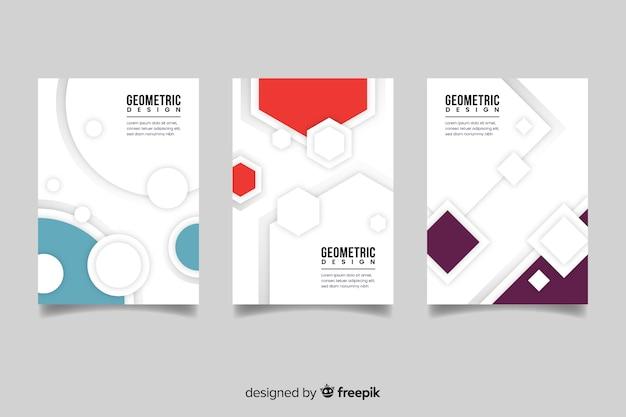 Abdeckungsschablone mit satz des geometrischen designs