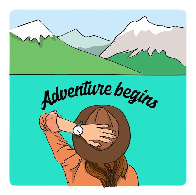 Abenteuer beginnt