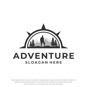 Abenteuer logo inspiration design