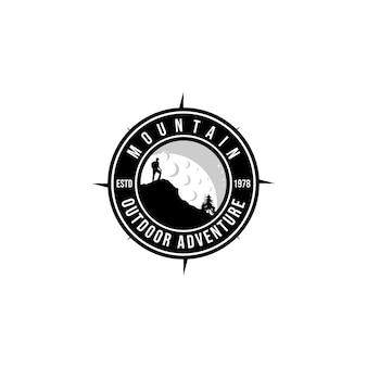 Abenteuer-logo-inspiration.modernes design.vektor-illustrationskonzept