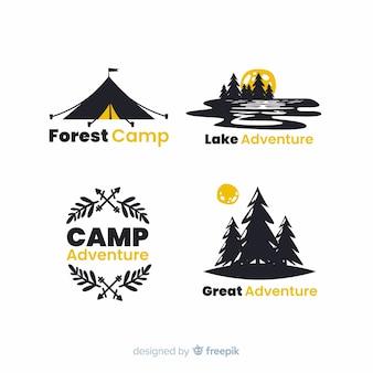 Abenteuer-logo-sammlung