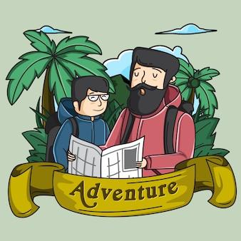 Abenteuer mit papa