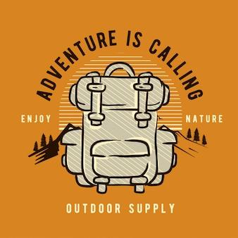 Abenteuer rucksack