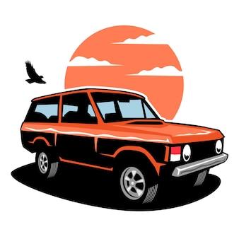Abenteuerauto-abbildung