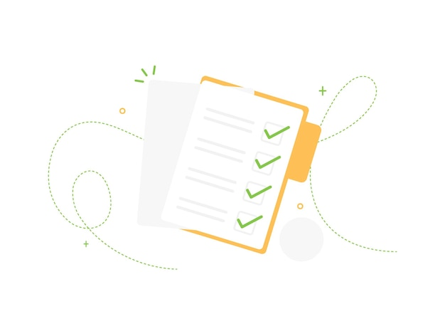 Abgeschlossene aufgabenlistendokumente im ordner