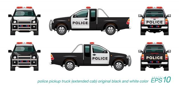 Abholung polizeiauto