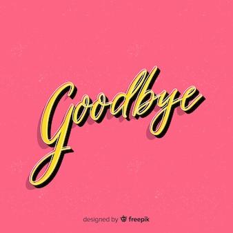Abschiedshintergrund