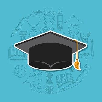 Abschlussfeier design