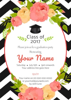 Abschlussfeier vorlage einladung