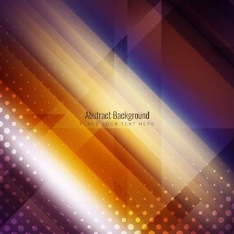 Abstarct bunte stilvolle glänzend hintergrund-design