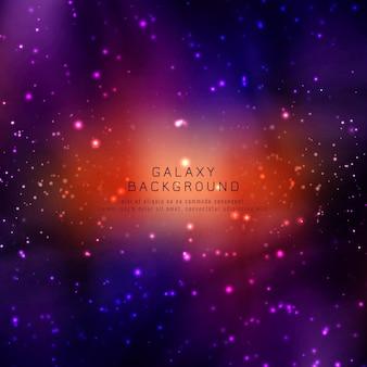 Abstarct moderner galaxiehintergrund