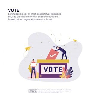 Abstimmung konzept