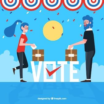 Abstimmungswort konzept