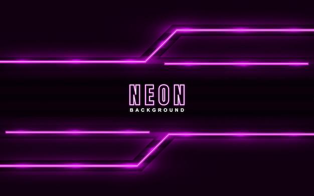 Abstrac hellrosa neon-effekt-hintergrund
