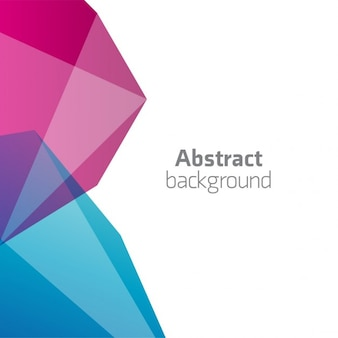 Abstract 3d rosa und blauen hintergrund