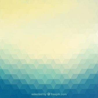 Abstract background in geometrischen stil
