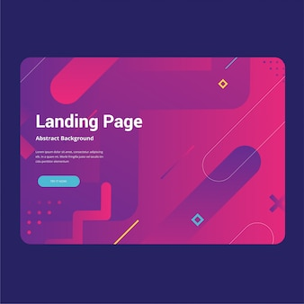 Abstract background landing page