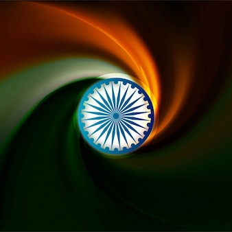 Abstract background of india