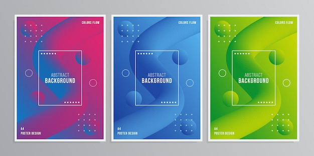 Abstract cover-design-set