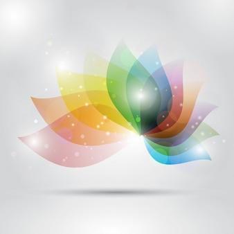 Abstract floral design hintergrund uisng pastellfarben