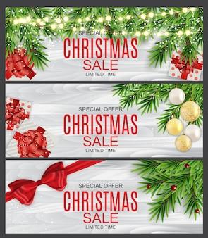 Abstract illustration weihnachtsverkauf, sonderangebot
