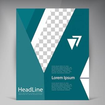 Abstract vector moderne flyer broschüre.
