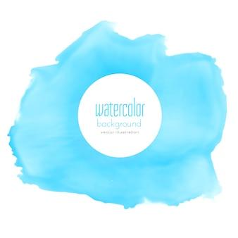 Abstrakt blau aquarell fleck vektor hintergrund