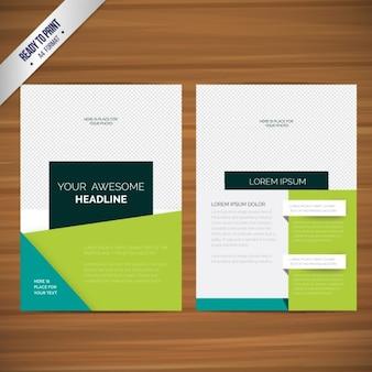 Abstrakt broschüren