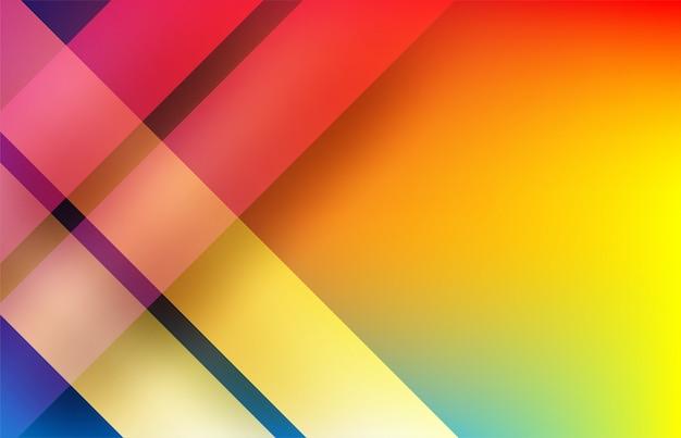 Abstrakt. bunter geometrischer formüberlappungshintergrund. licht und schatten.