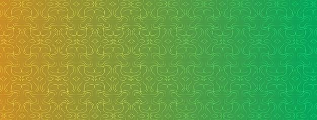 Abstrakt, formen, geometrisch, muster, design, bunt, gelb, grüner hintergrund mit farbverlauf