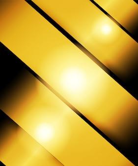 Abstrakt. goldene überlappungsschicht auf schwarzem hintergrund. licht und schatten. moderner futuristischer hintergrund.