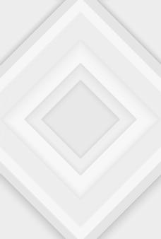Abstrakt. hintergrund des modernen designs. weiße geometrische formen überlappen die schicht.