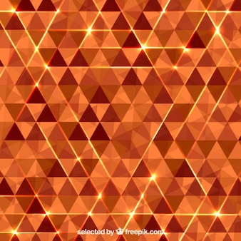 Abstrakt hintergrund mit orange dreiecke