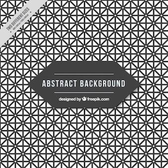 Abstrakt hintergrund voller geometrische formen