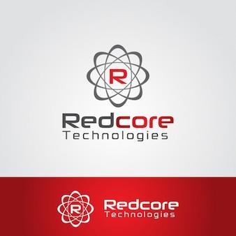 Abstrakt logo mit schreiben r
