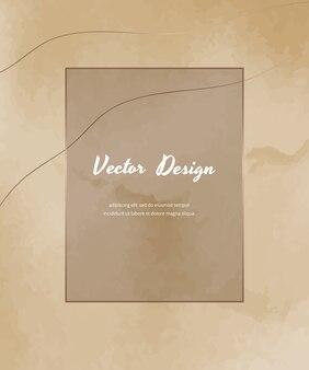 Abstrakt mit nacktem formdesign. druckbare wandkunst, neutraler kunstdruck der mitte des jahrhunderts