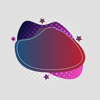 Abstrakt, modern, formen, flüssigkeiten, spritzer, mehrfarbig, dunkelblau, rot, violett, rosa gradiententapetenhintergrund-vektorillustration