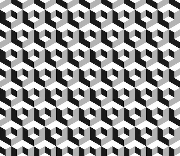 Abstrakt. nahtloser musterhintergrund der geometrielinie.