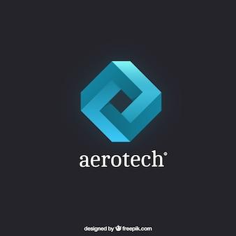 Abstrakt rhombus logo