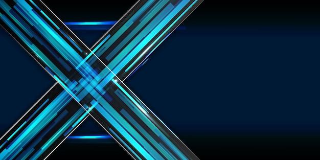 Abstrakt sci-fi hintergrund konzept x symbol hallo tech Premium Vektoren
