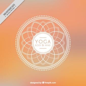 Abstrakt yoga hintergrund