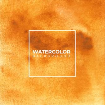 Abstrakte aquarellhandfarbe der braunen farbe.